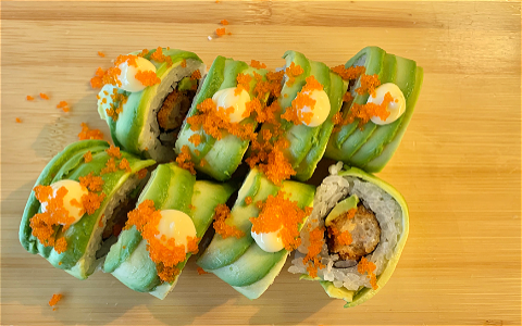 Foto Green Dragon Roll